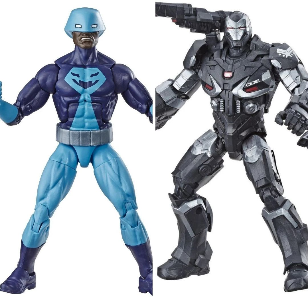 Avengers Rock Python & War Machine 2-Pack Marvel Legends Figure by Hasbro
