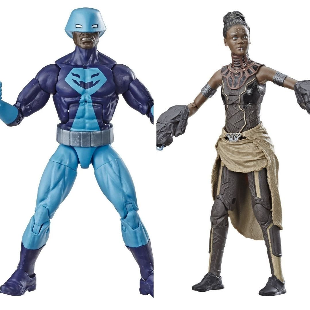 Avengers Rock Python & Shuri 2-Pack Marvel Legends Figure by Hasbro -Hasbro - India - www.superherotoystore.com