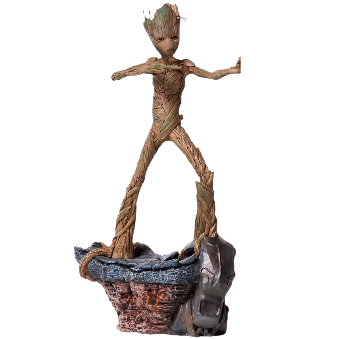 Avengers Endgame Groot 1:10th Scale Statue by Iron Studios