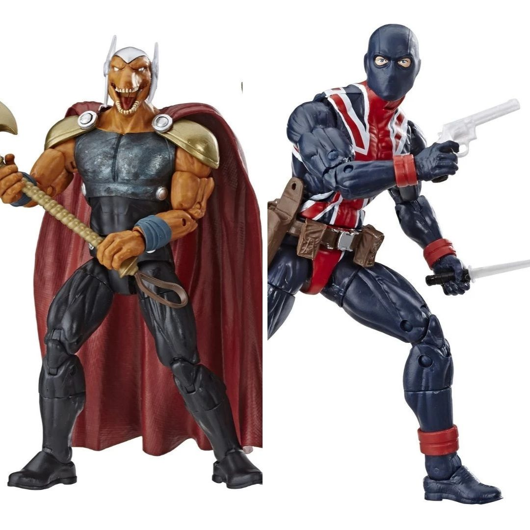 Avengers Beta Ray Bill & Union Jack 2-Pack Marvel Legends Figures by Hasbro