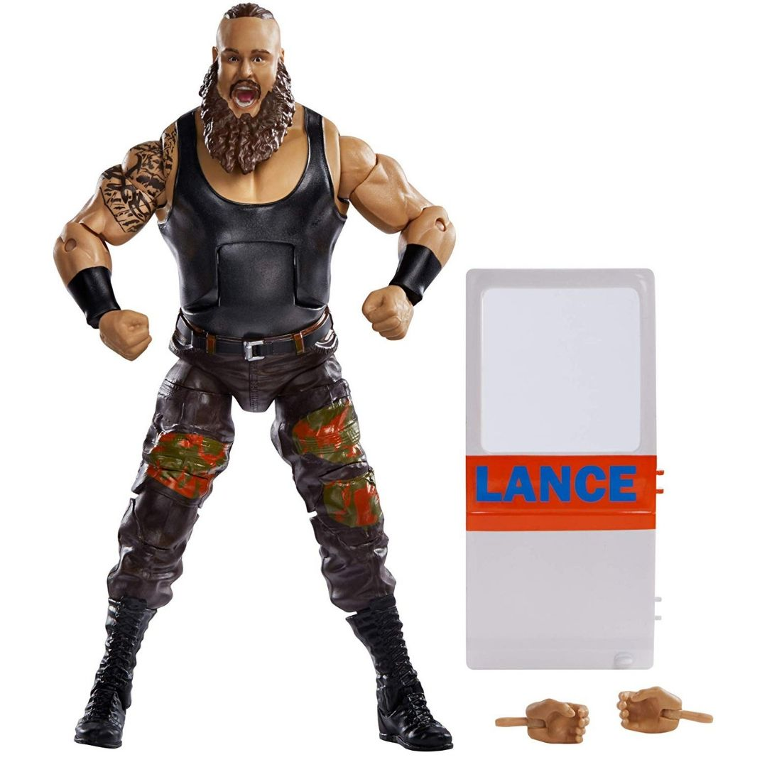 WWE Elite Collection Braun Strowman Figure by Mattel