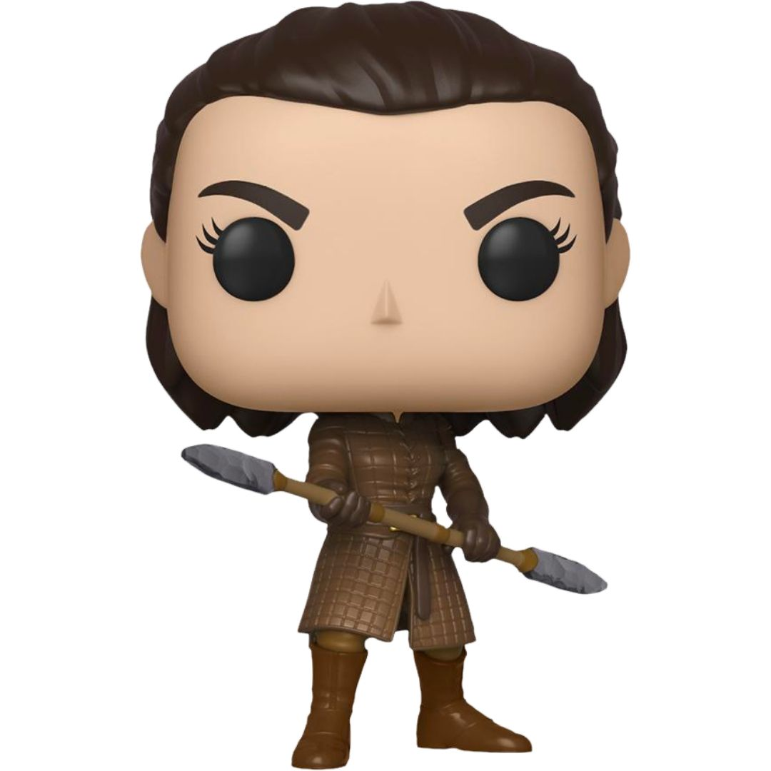 Game Of Thrones Arya With Two-Headed Spear Pop! Vinyl Figure by Funko