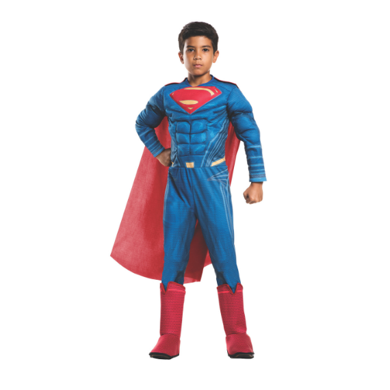 Kids Dawn of Justice Superman Costume by Rubies Costume co.
