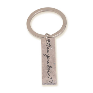 How You Doing Keychain by EFG