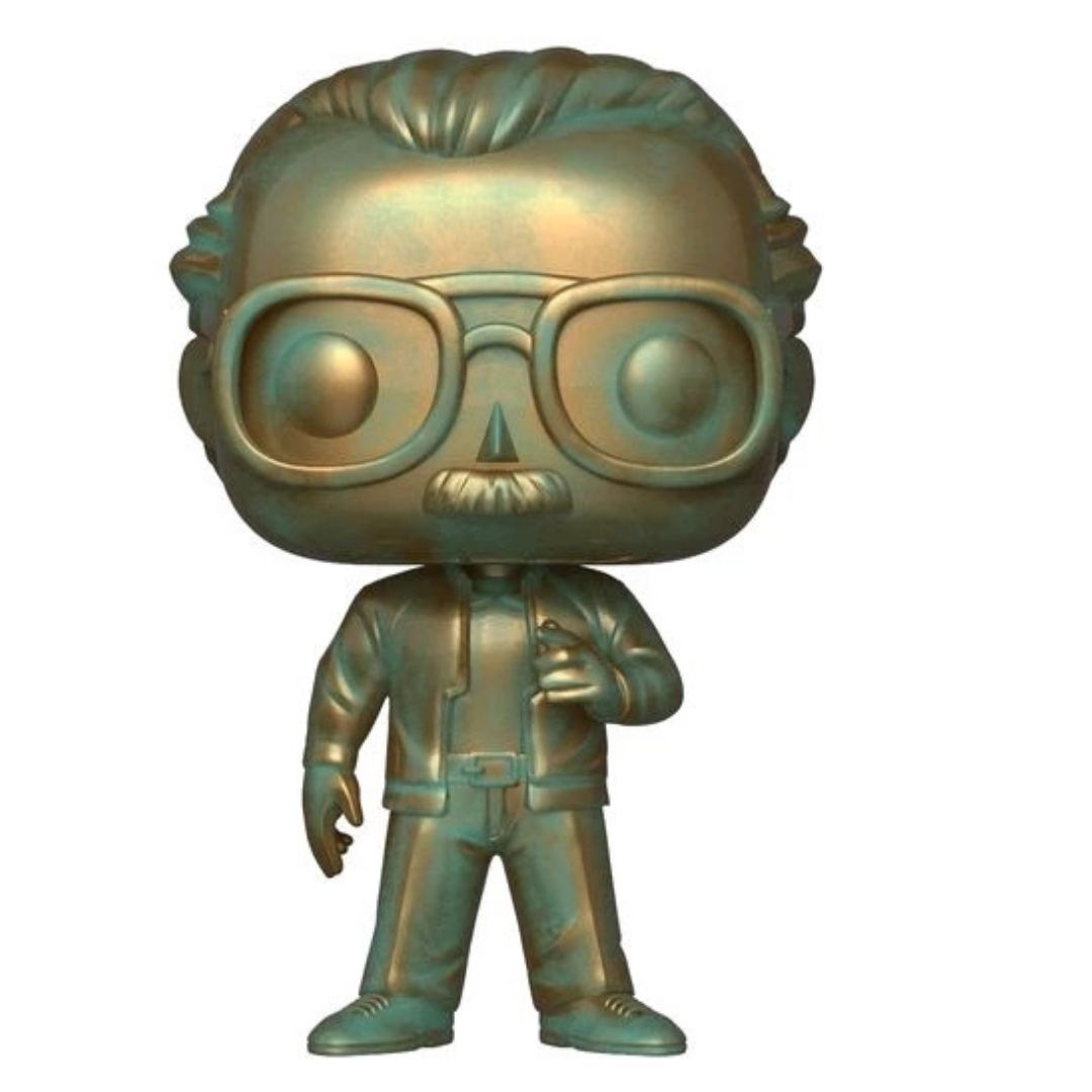 SDCC Exclusive: Marvel Stan Lee Platina Pop Vinyl Figure by Funko