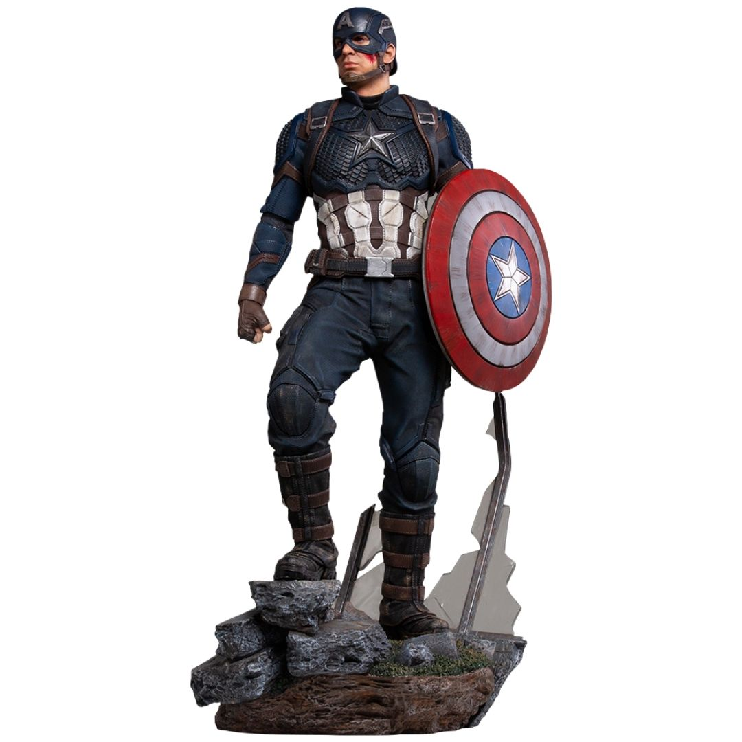 Avengers Endgame Captain America Deluxe Legacy Replica 1:4th Scale Statue by Iron Studios