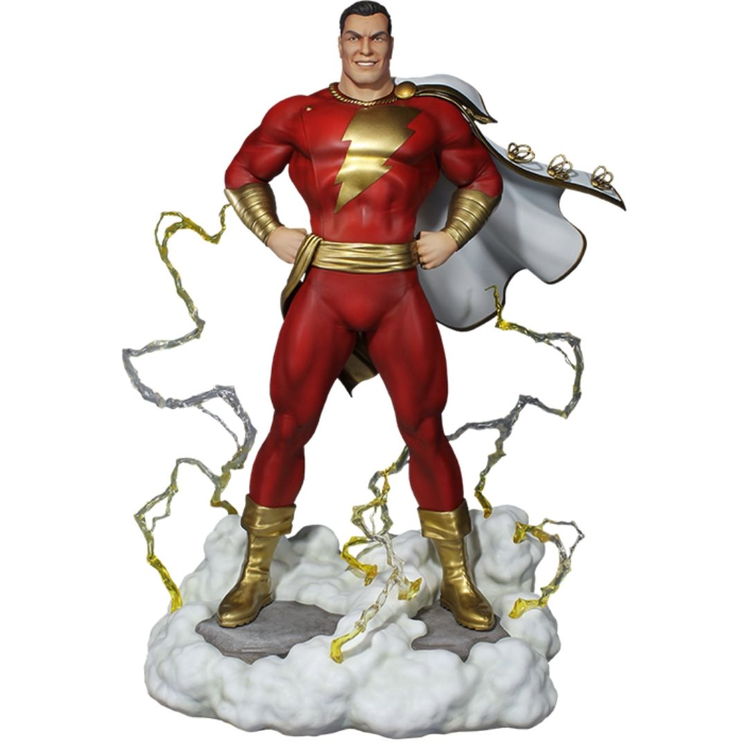 Super Powers Collection Shazam Maquette by Tweeterhead