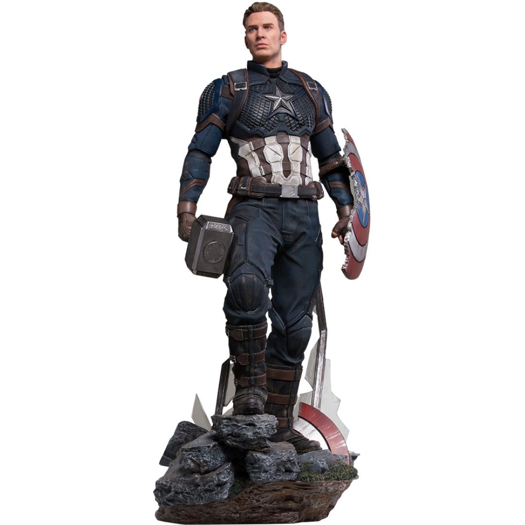Avengers Endgame Captain America Legacy Replica 1:4th Scale Statue by Iron Studios