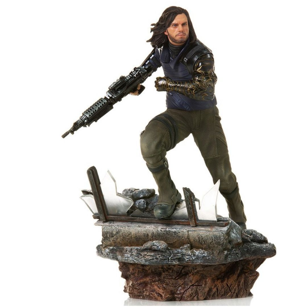 Avengers Endgame Winter Soldier 1:10th Art Scale Statue by Iron Studios