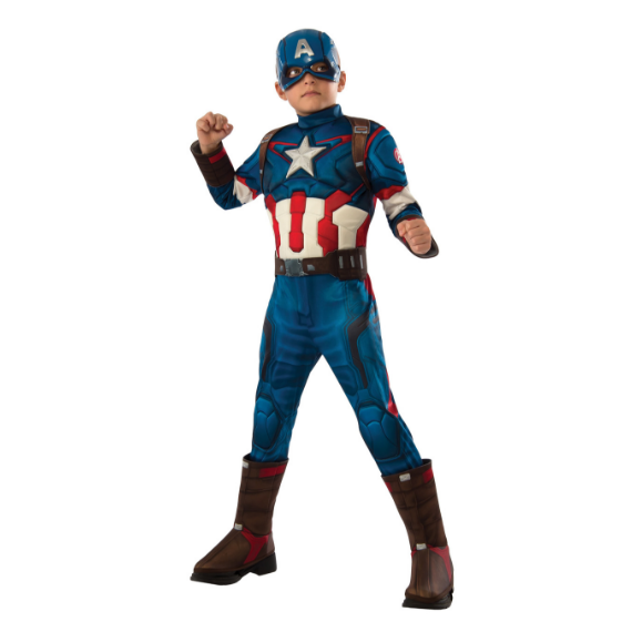 Kids Captain America Age of Ultron Costume by Rubies Costume co.