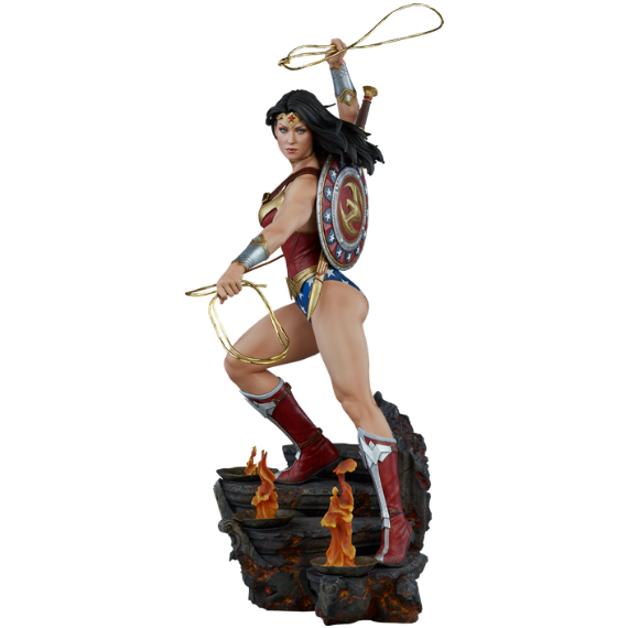 Wonder Woman 1/4th Scale Premium Format Statue by Sideshow Collectibles