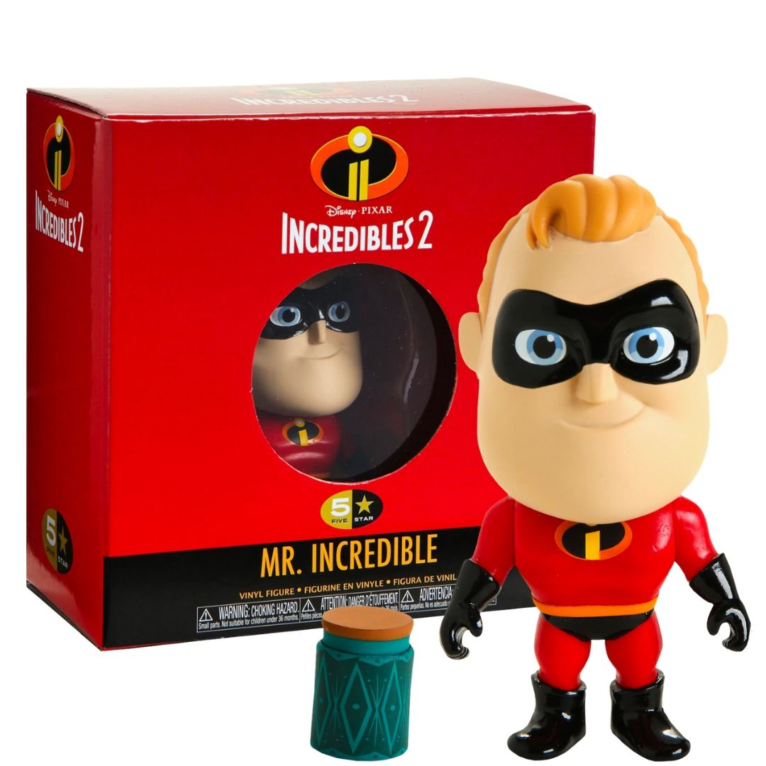 Incredibles 2 - Mr Incredible 5 Star Figure by Funko