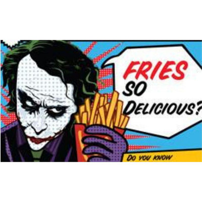 Fries Magnet by Graphicurry -Graphicurry - India - www.superherotoystore.com