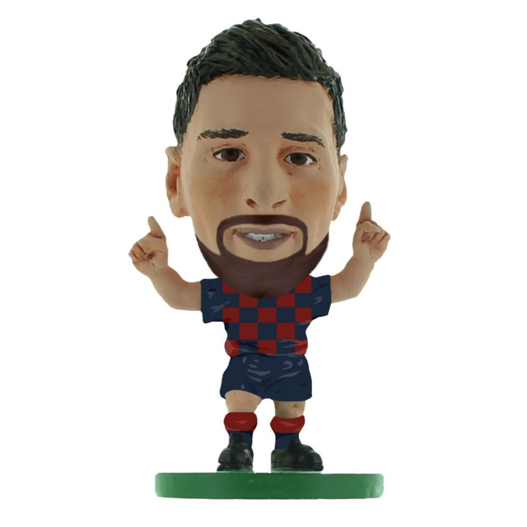 Lionel Messi - Barcelona - Home Kit (2020 Version) Figure by Soccer Starz -Soccer Starz - India - www.superherotoystore.com