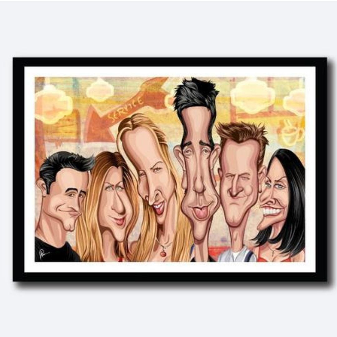 Friends Forever Poster by Graphicurry -Graphicurry - India - www.superherotoystore.com