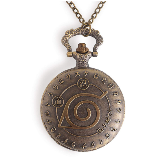 Naruto Inspired Pocket Watch