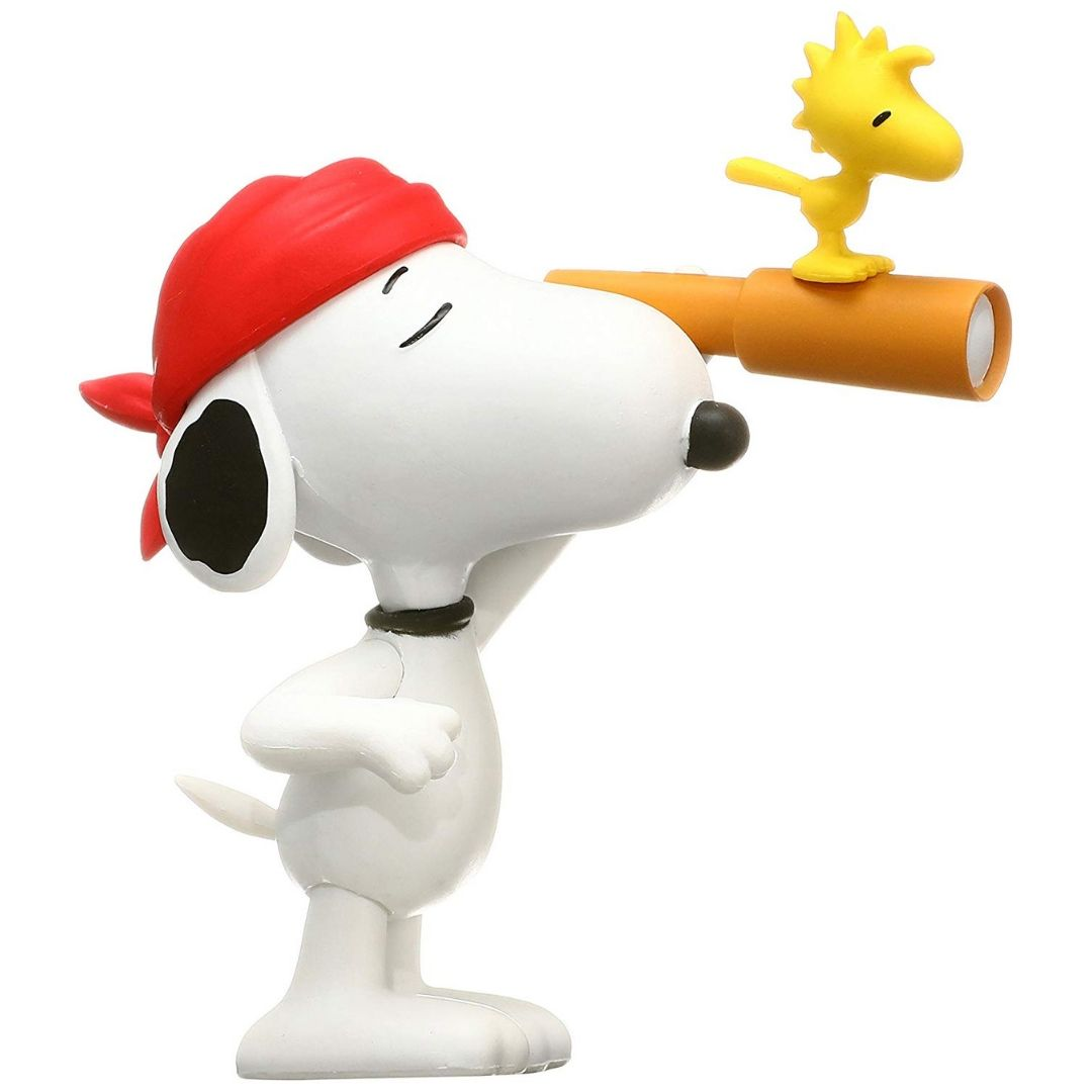 Pirate Snoopy and Woodstock Ultra Detailed Figure by Medicom Toy Corporation