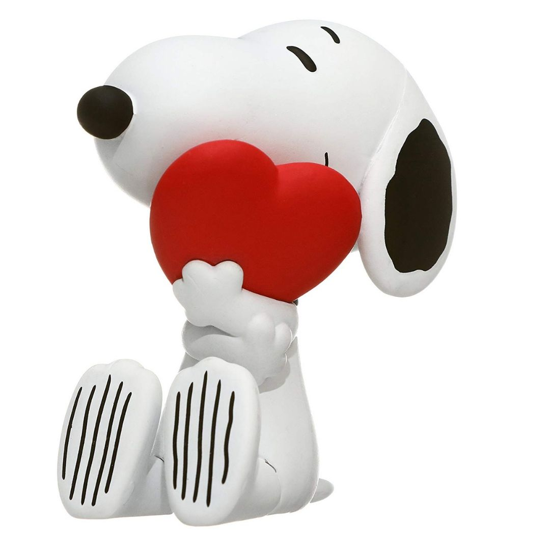 Snoopy with Heart Ultra Detailed Figure by Medicom Toy Corporation