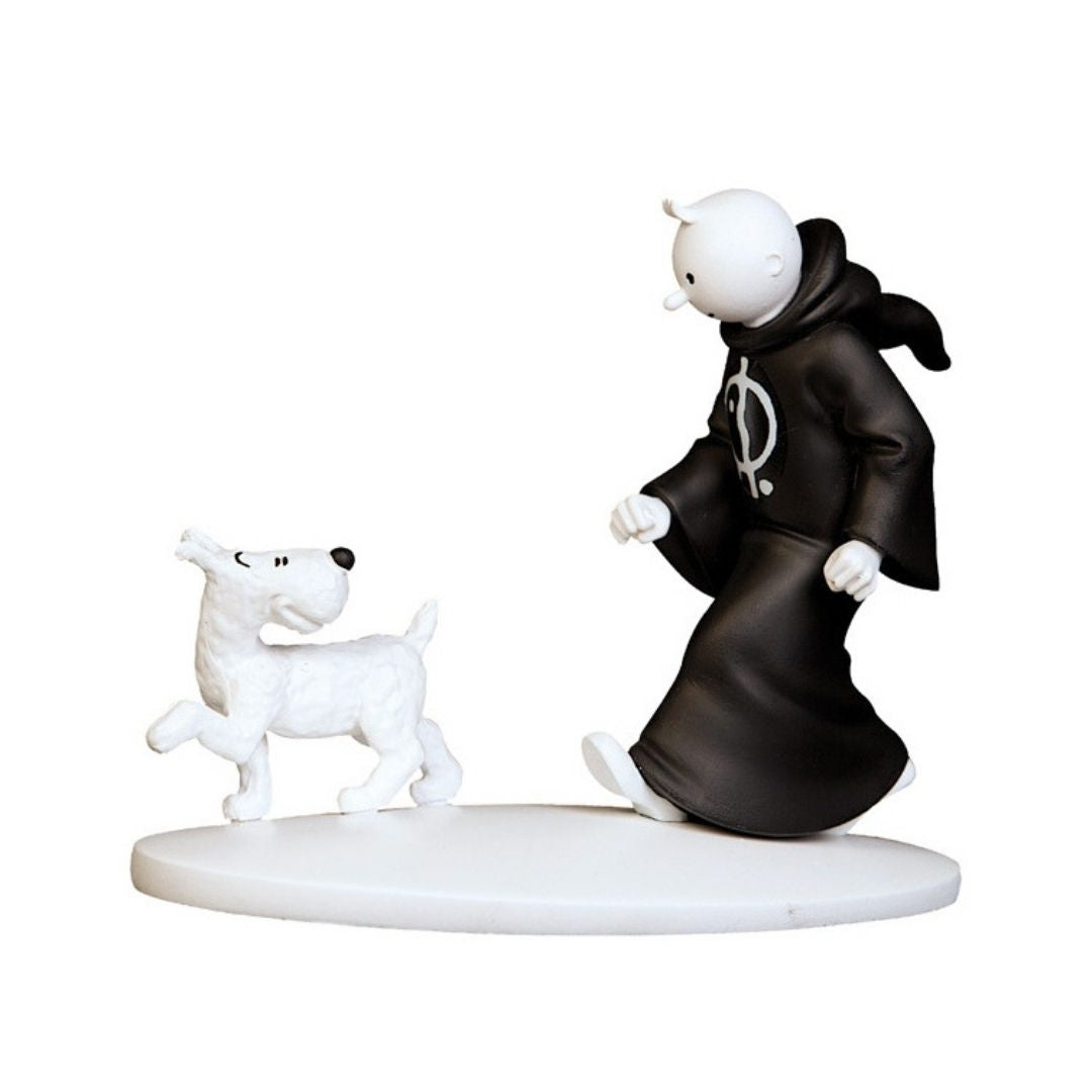Tintin In Cigars Of Pharaoh Black & White Statue by Moulinsart -Moulinsart - India - www.superherotoystore.com