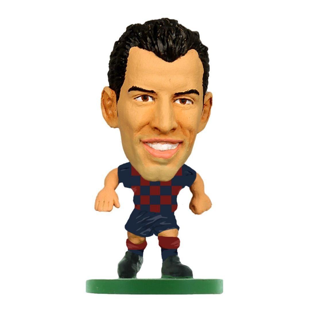 Sergio Busquets - Barcelona - Home Kit (2020 Version) Figure by Soccer Starz -Soccer Starz - India - www.superherotoystore.com