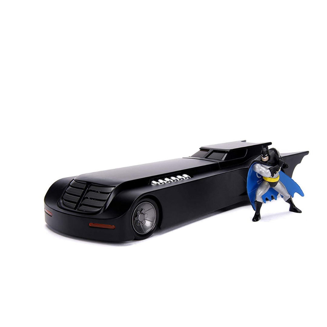 Batman Animated Series 1:24 Scale Batmobile with Figure by Jada Toys -Jada Toys - India - www.superherotoystore.com