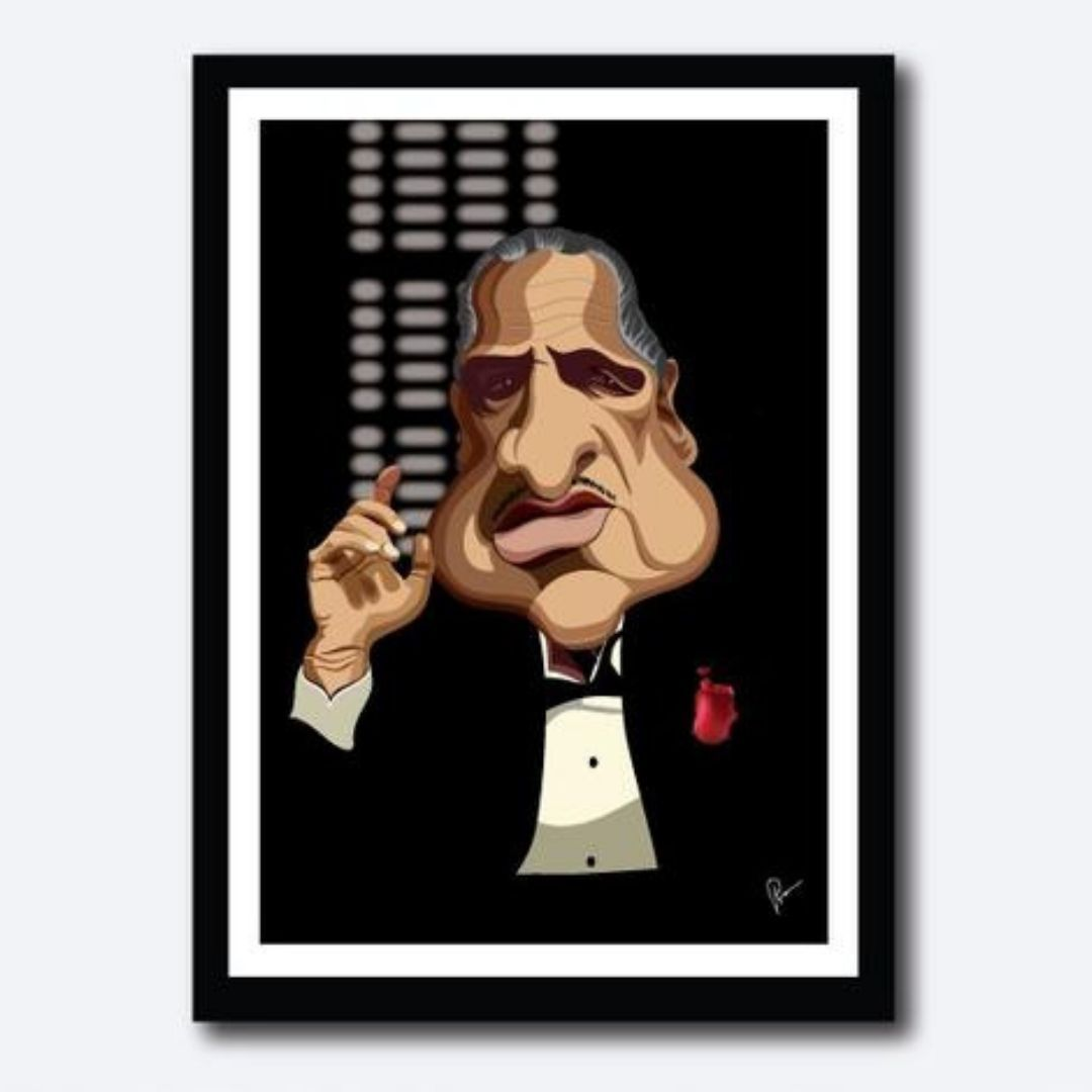 Godfather Poster by Graphicurry