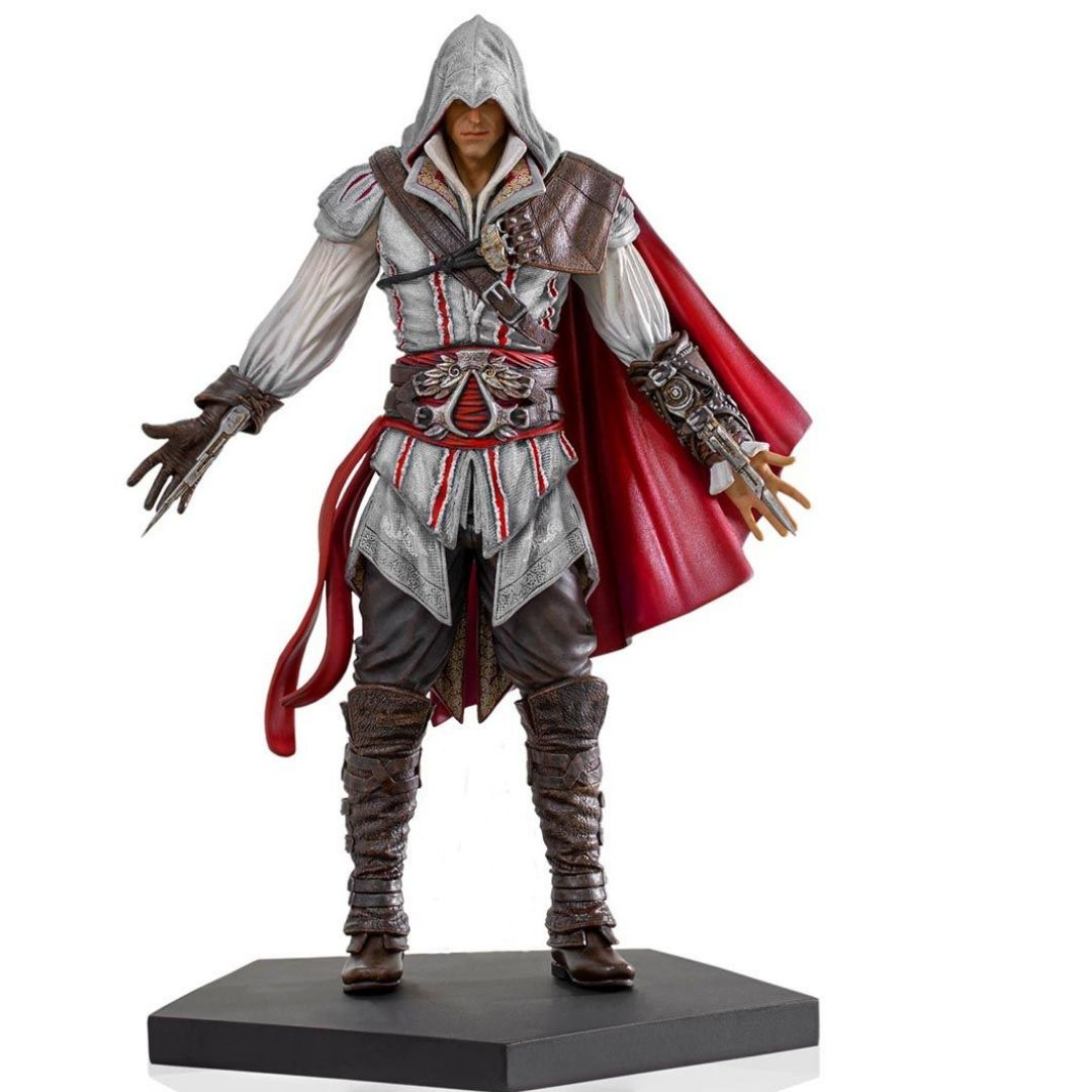 Assassin's Creed II: Ezio Auditore 1/10th Scale Statue by Iron Studios -Iron Studios - India - www.superherotoystore.com