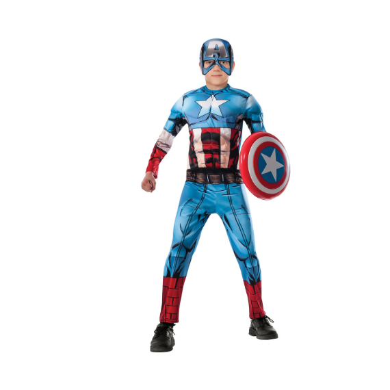 Kids Captain America Costume by Rubies Costume co.