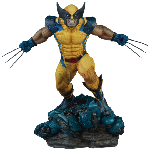 X-Men 2018: Wolverine (Regular Edition) 1/4th Scale Premium Format Figure by Sideshow Collectibles