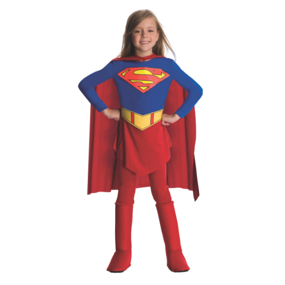 Kids Supergirl Costume by Rubies Costume co.