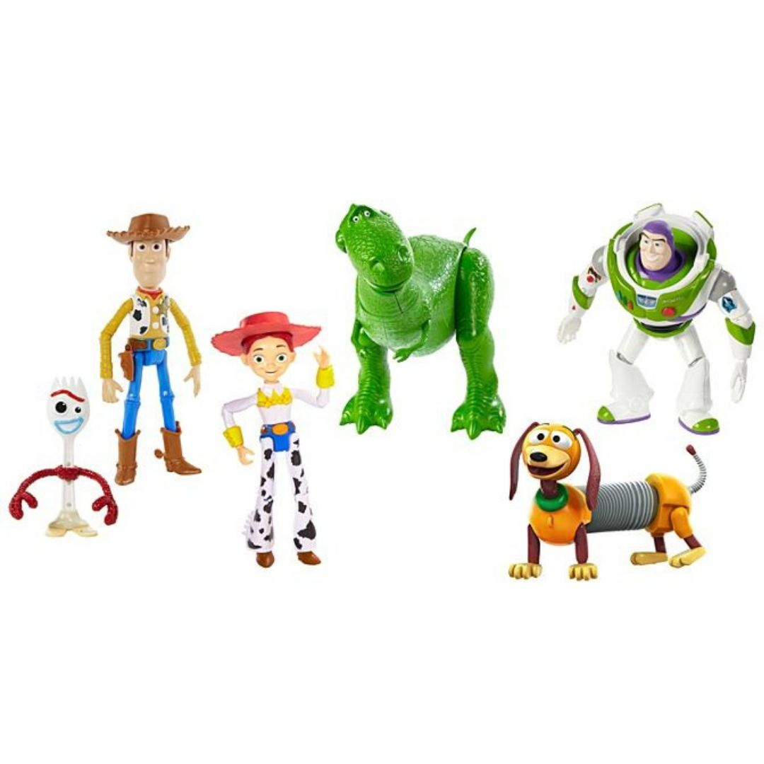 Toy Story RV Friends 6 Pack Figure Set by Mattel