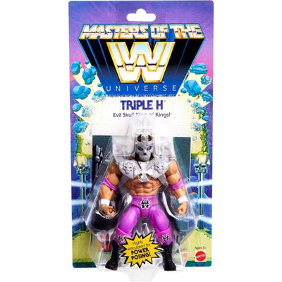 Masters Of the WWE Universe Triple H Figure by Mattel -Mattel - India - www.superherotoystore.com