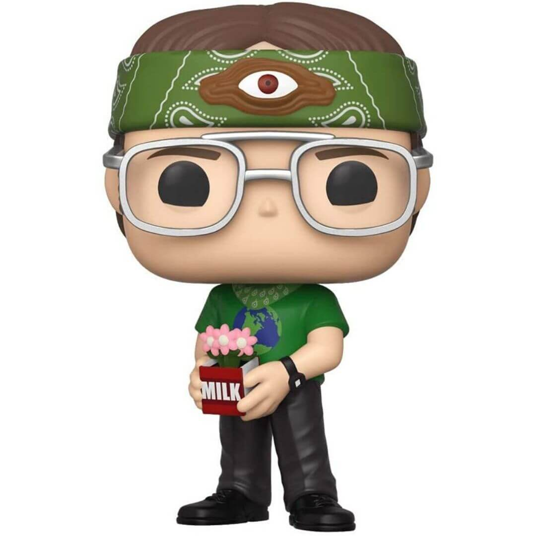 Emerald Comic Con Exclusive The Office Dwight Schrute as Recyclops Pop! Vinyl Figure by Funko