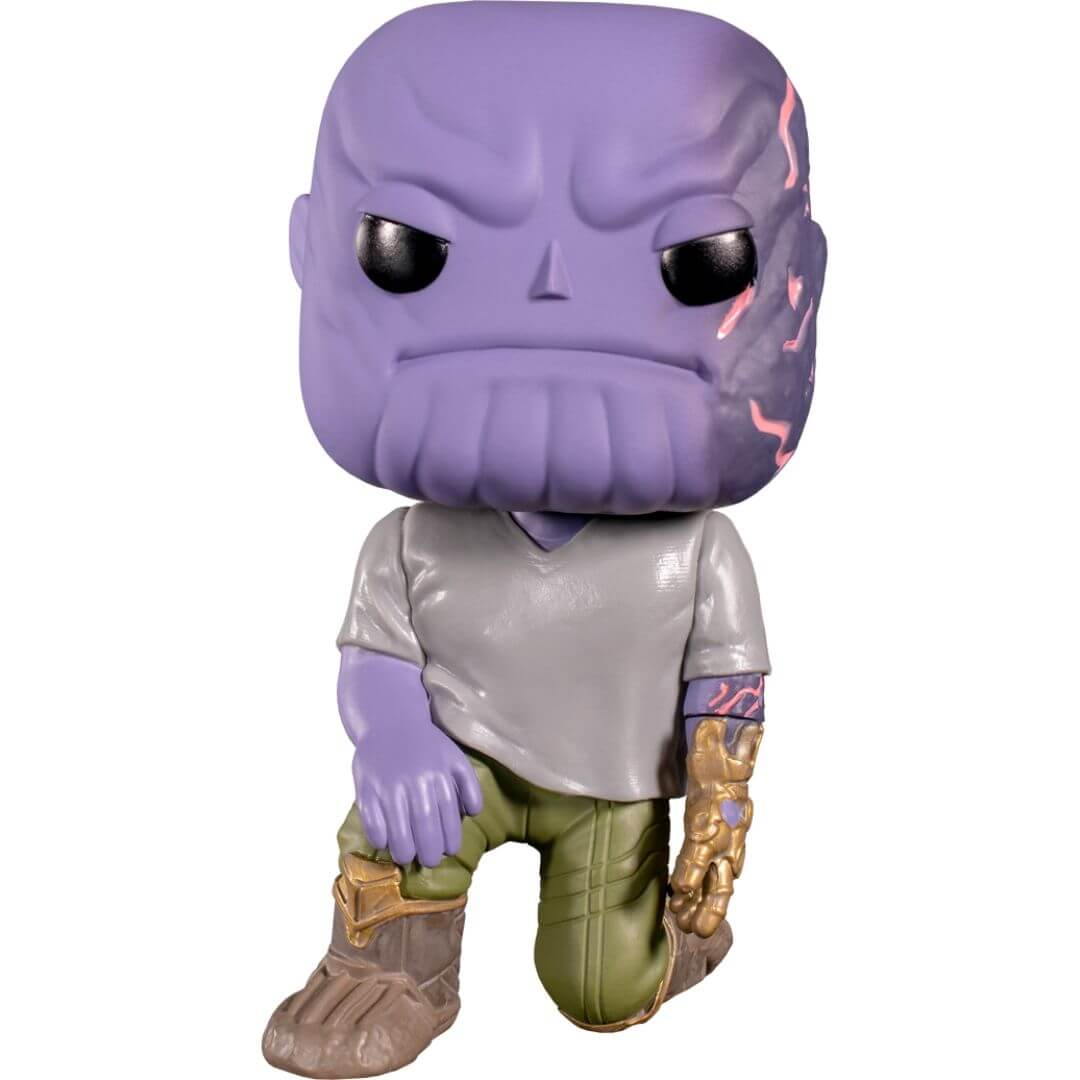 Emerald Comic Con Exclusive Avengers Endgame Thanos with Broken Arm Vinyl Bobble-Head by Funko -Funko - India - www.superherotoystore.com