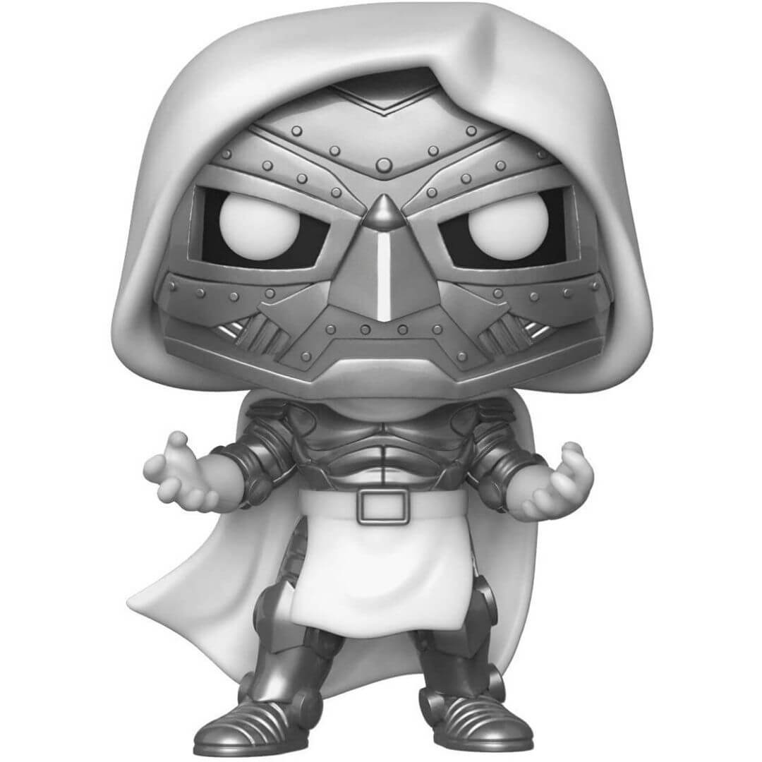 Emerald Comic Con Exclusive Marvel Comics Doctor Doom Vinyl Bobble-Head by Funko -Funko - India - www.superherotoystore.com
