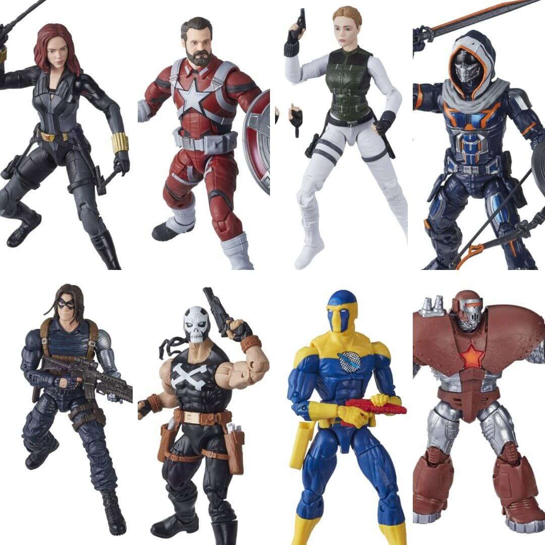 Black Widow Movie (Crimson Dynamo BAF) Marvel Legends Figure Set by Hasbro -Hasbro - India - www.superherotoystore.com