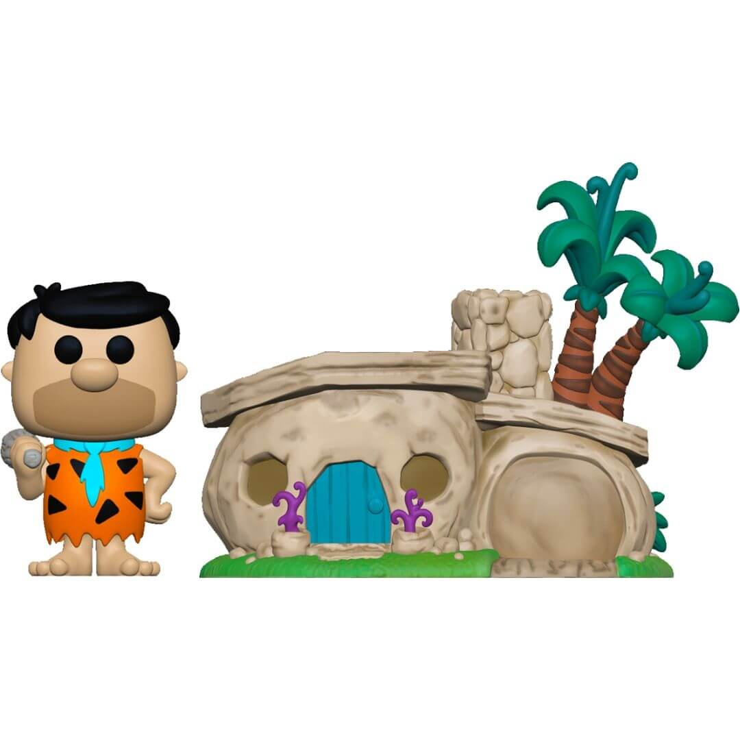 Flinstones Home with Flintstone Pop! Vinyl Figure by Funko