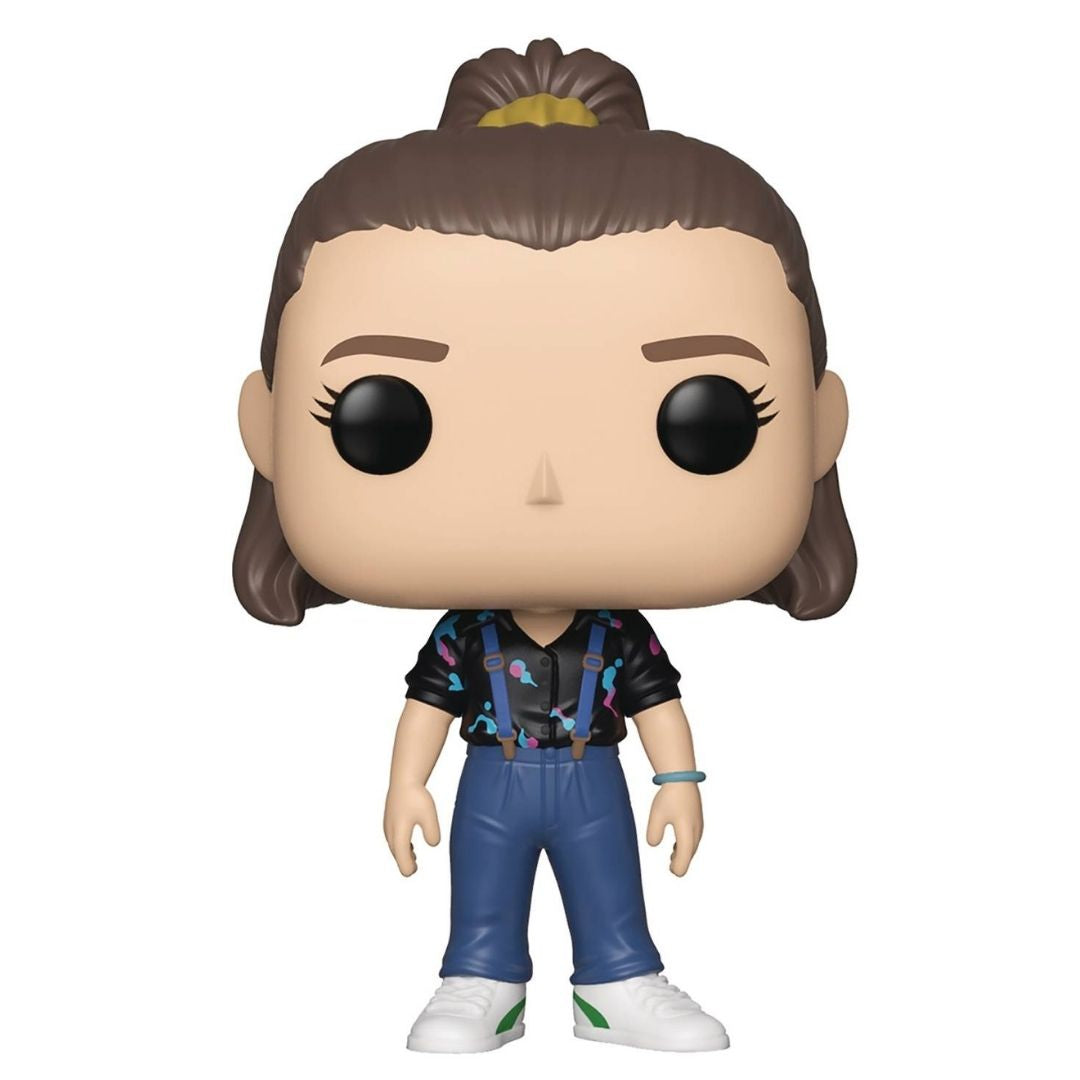Stranger Things Eleven with Suspenders Pop! Vinyl Figure by Funko -Funko - India - www.superherotoystore.com