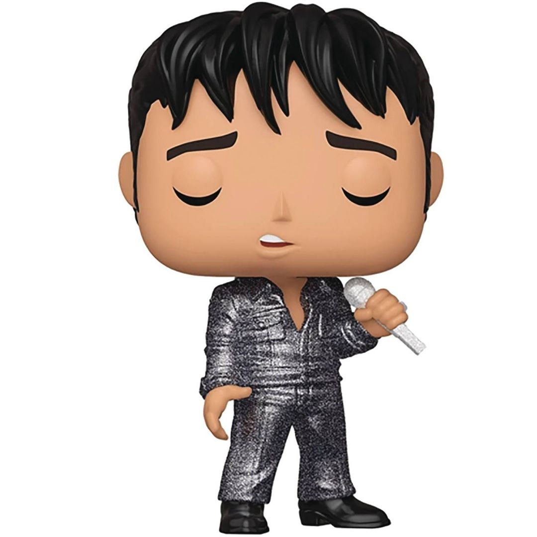 Elvis 68 Comeback Pop! Rocks Vinyl Figure by Funko -Funko - India - www.superherotoystore.com