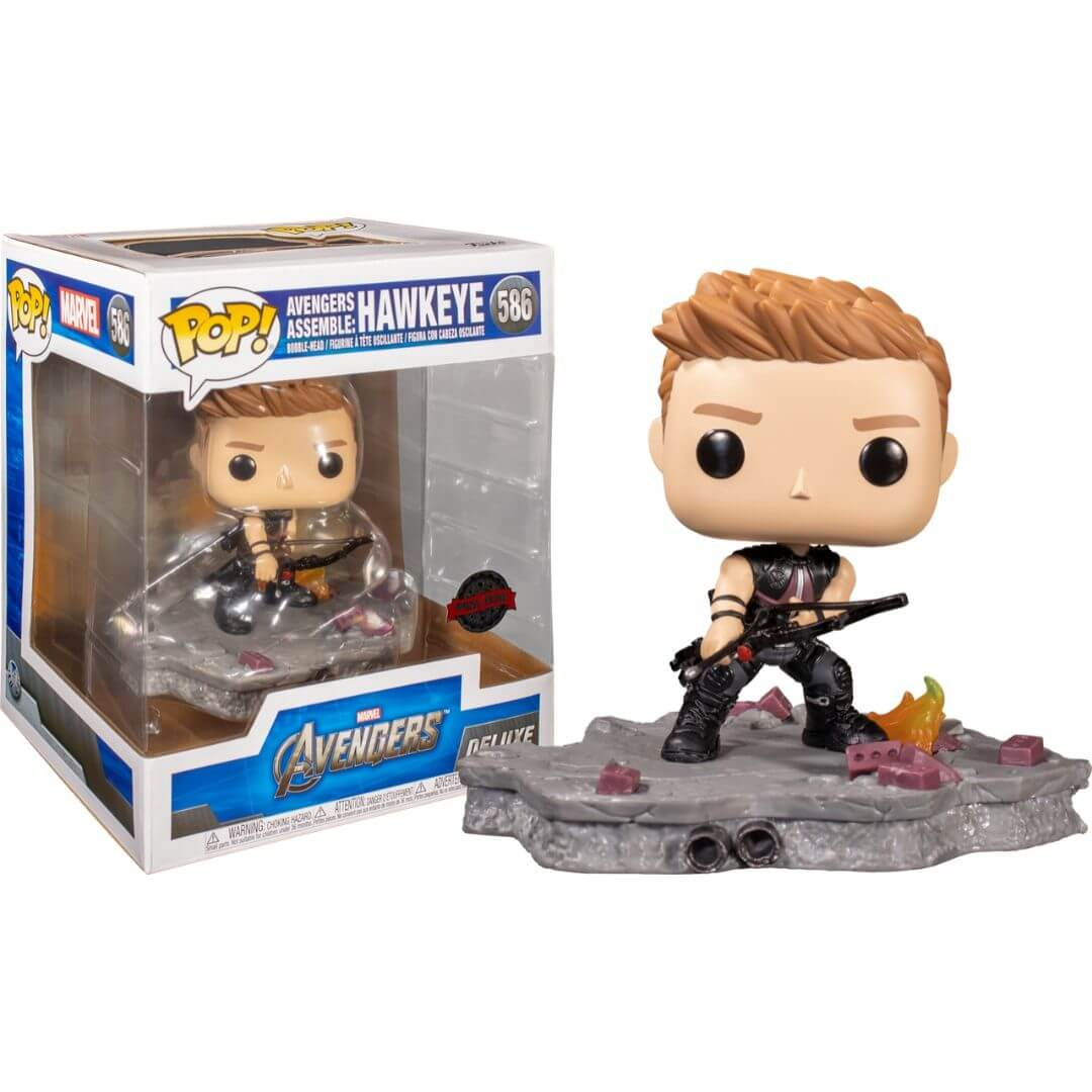 Avengers Hawkeye (Assemble) Vinyl Bobble-Head by Funko -Funko - India - www.superherotoystore.com