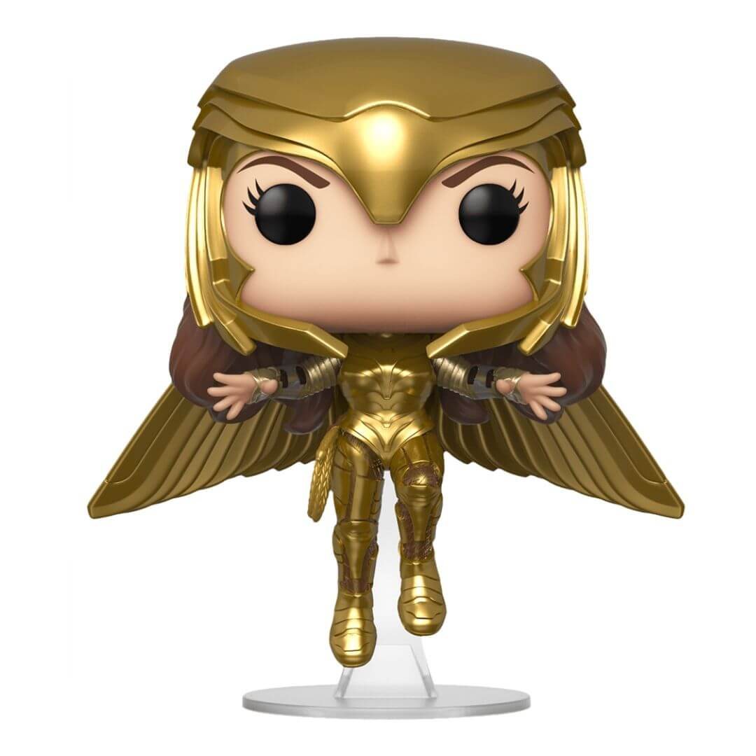 Wonder Woman 1984: Golden Armor Flying Wonder Woman Pop! Vinyl Figure by Funko -Funko - India - www.superherotoystore.com