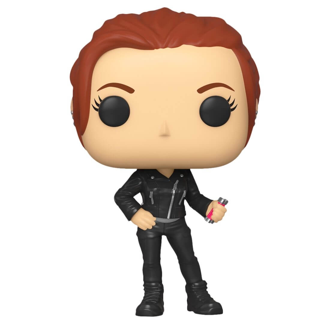 Black Widow Movie: Street Clothes Black Widow Pop! Vinyl Bobble-Head by Funko -Funko - India - www.superherotoystore.com