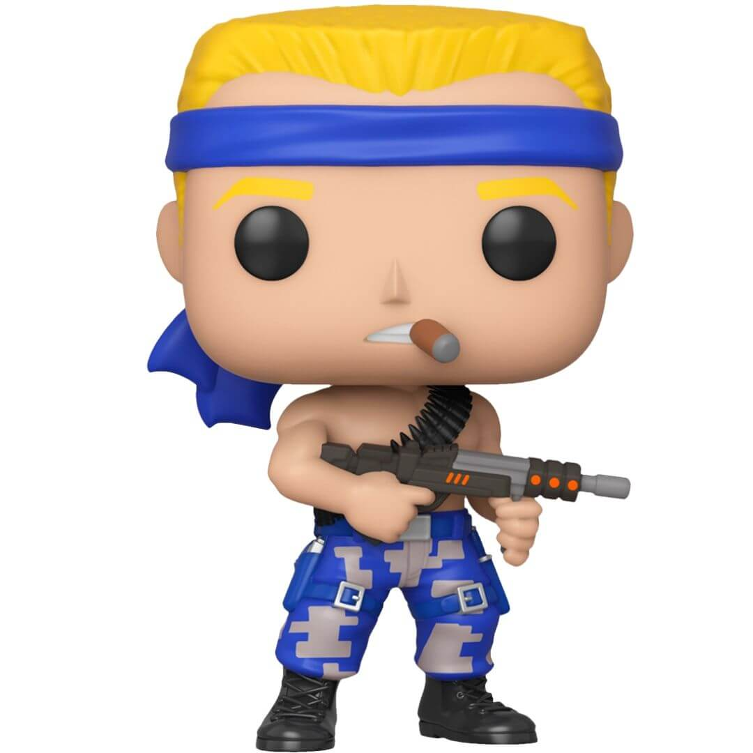 Contra Bill Pop! Vinyl Figure by Funko -Funko - India - www.superherotoystore.com