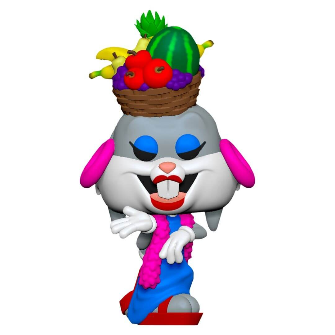 Bugs Bunny 80th Anniversary Bugs in Fruit Hat Pop! Vinyl Figure by Funko