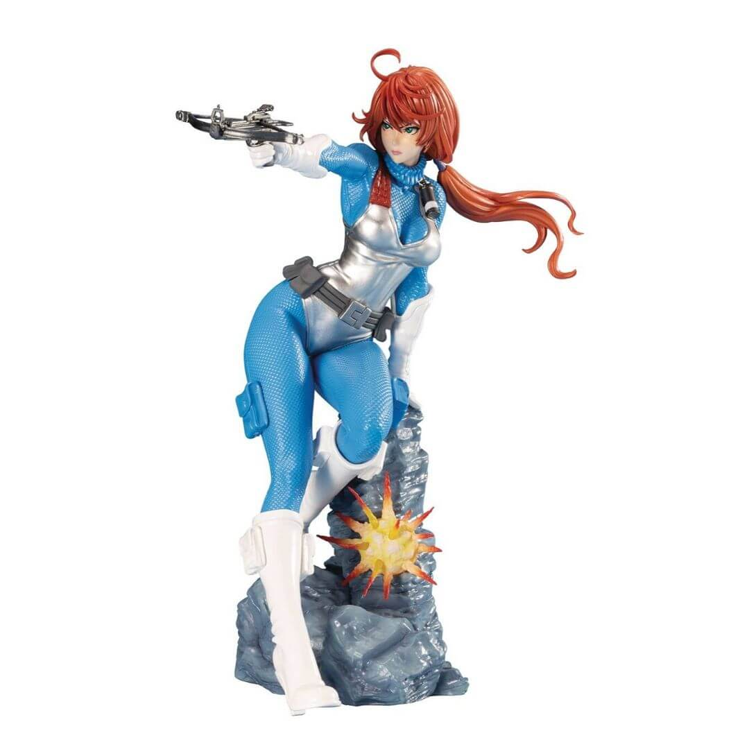 G.I. Joe Bishoujo Scarlett (Sky Blue Color) Figure by Kotobukiya -Kotobukiya - India - www.superherotoystore.com