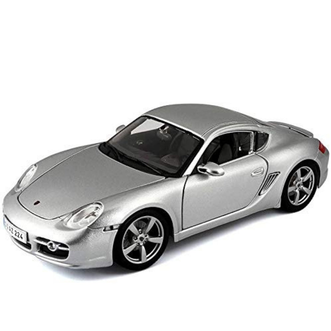 1:18 Scale Porsche Cayman S (Silver) Die-Cast Car by Maisto