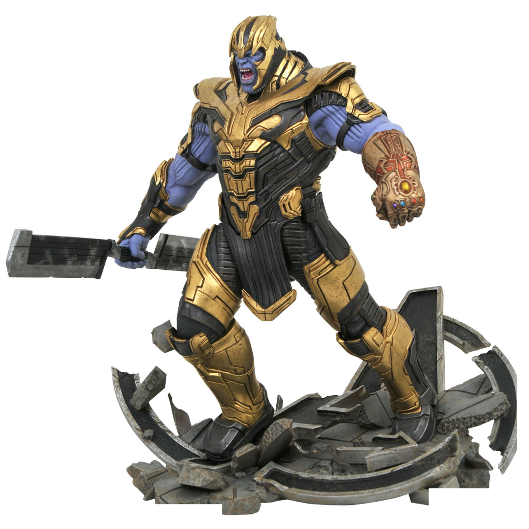 Avengers Endgame Armored Thanos Marvel Milestones Statue by Diamond Select Toys