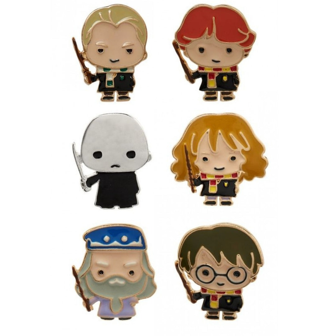 Harry Potter Character Pin set by EFG -EFG - India - www.superherotoystore.com