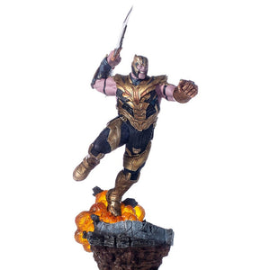 Avengers Endgame Thanos Statue by Iron Studios