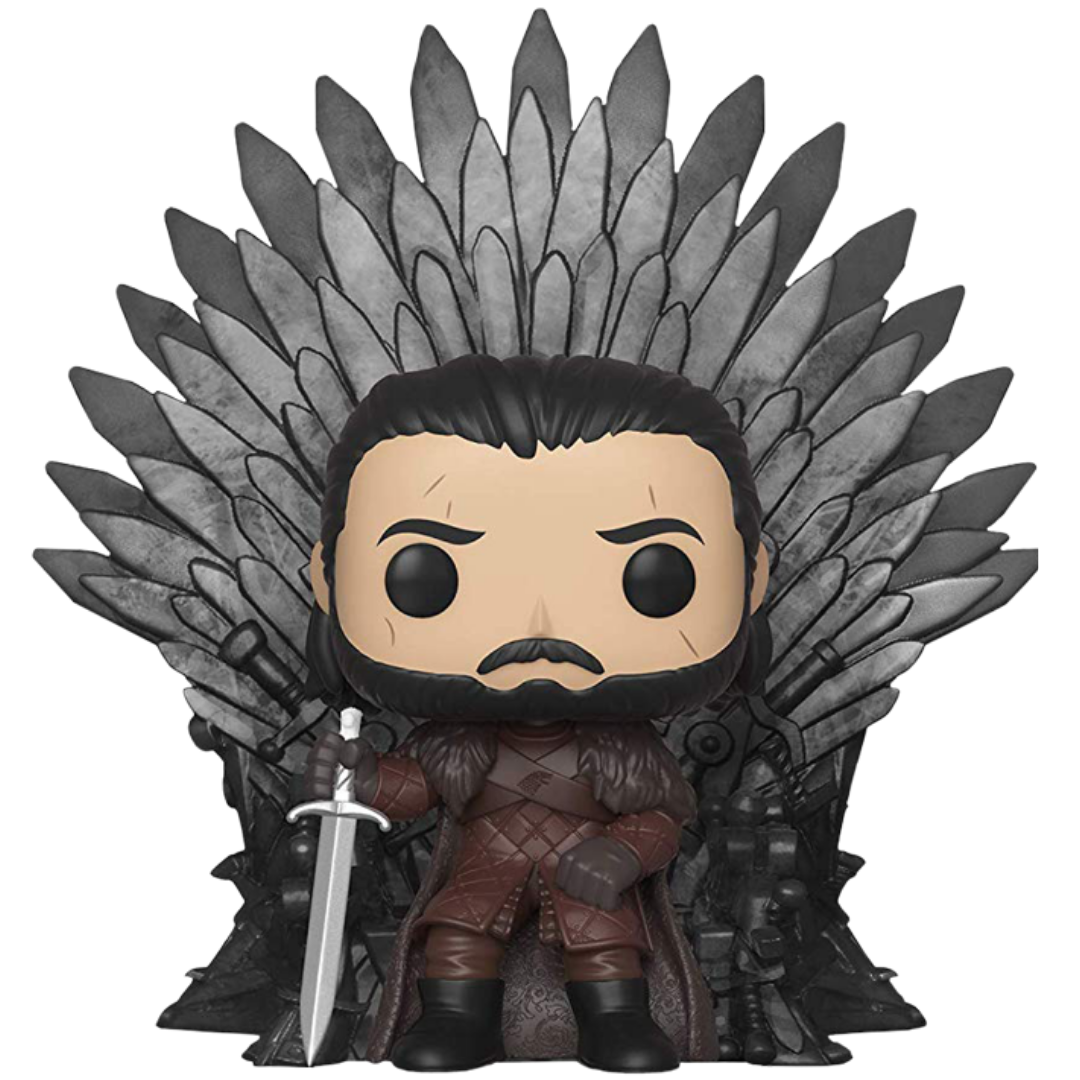 Game of Thrones Jon Snow on Iron Throne Pop! Vinyl Figure by Funko